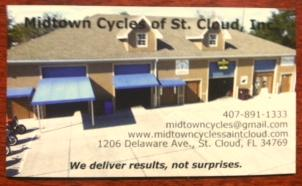 Midtown Cycle Saint Cloud Florida