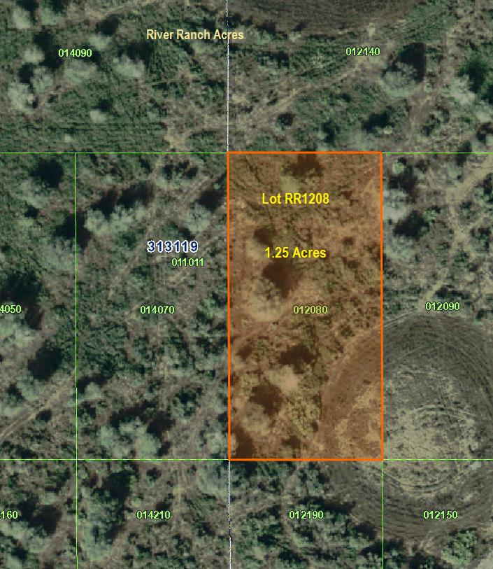 River Ranch Acres Land For Sale Lot 1208 RRPOA area