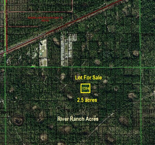 River Ranch Acres Lots For Sale RRPOA area land