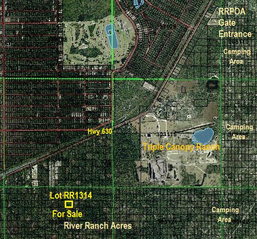 River Ranch lot for sale RRPOA area