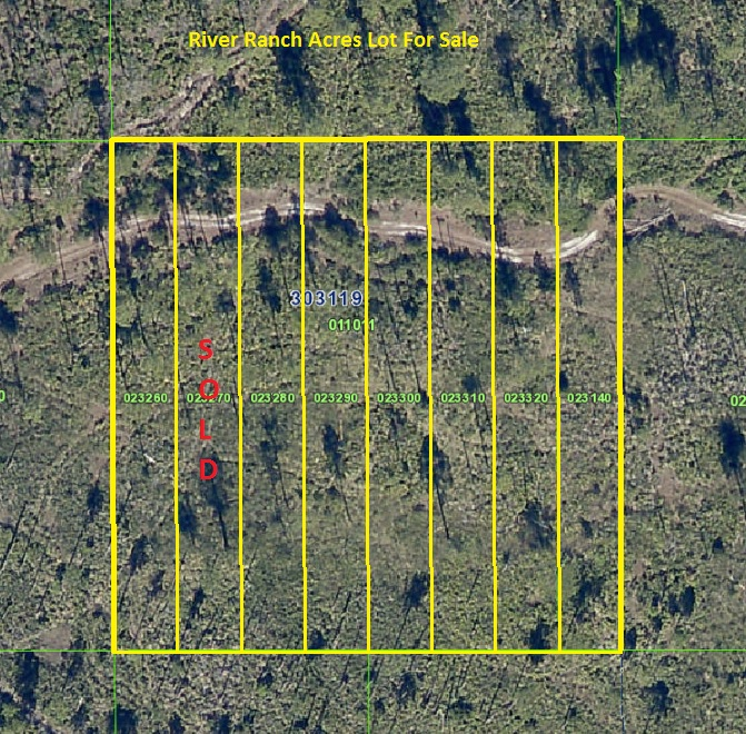 River Ranch Acres Lot for sale Hunt Access Land RRPOA