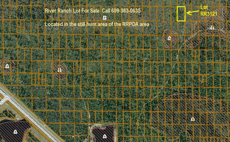 River Ranch lot for sale RRPOA still hunt area