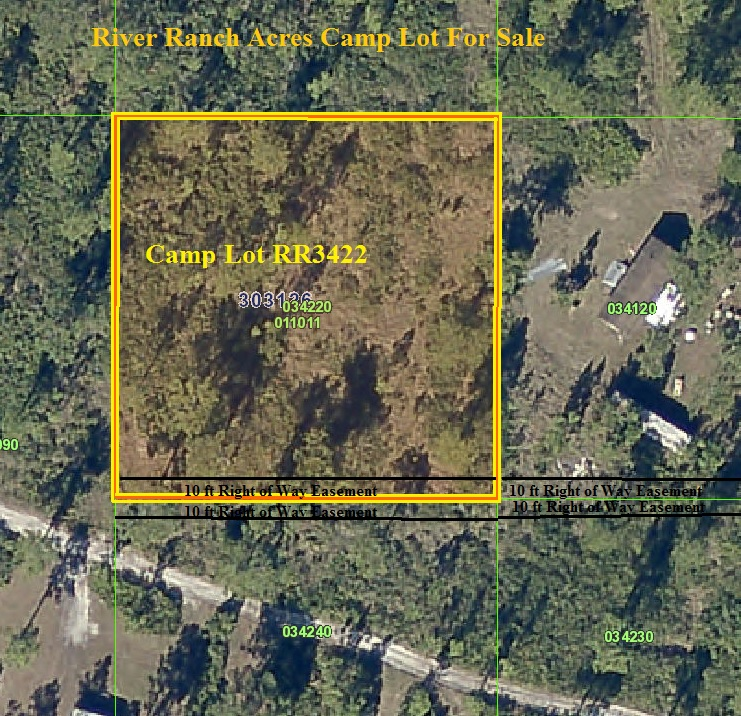 River Ranch Serveyed RR Camp Lot RR 4x4 atv hunt