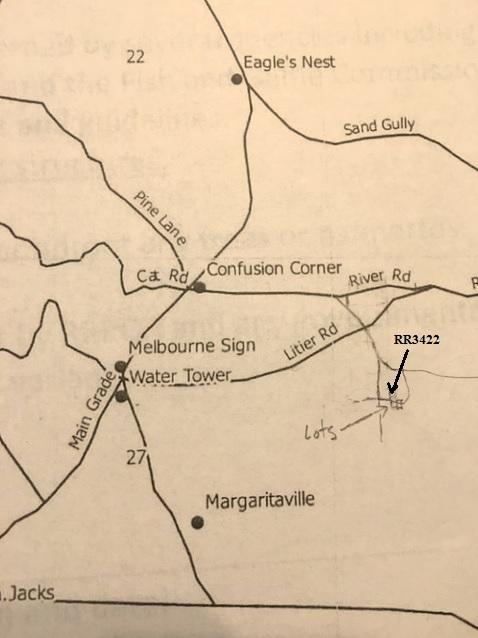 River Ranch Acres Map RRPOA Suburban Lots