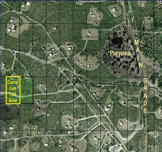 River Ranch Camp lot for sale in RRPOA area