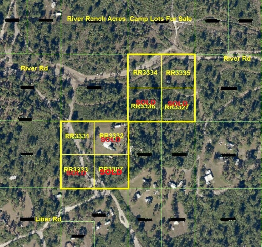 River Ranch Camp Lots For Sale RRPOA