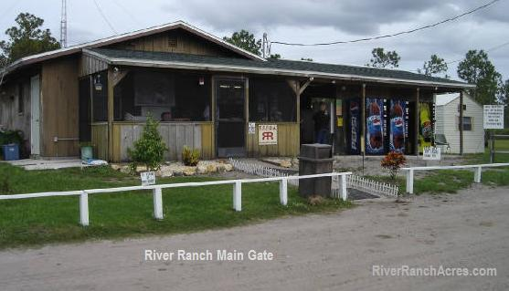River Ranch Main Gate Polk County Lake Wales