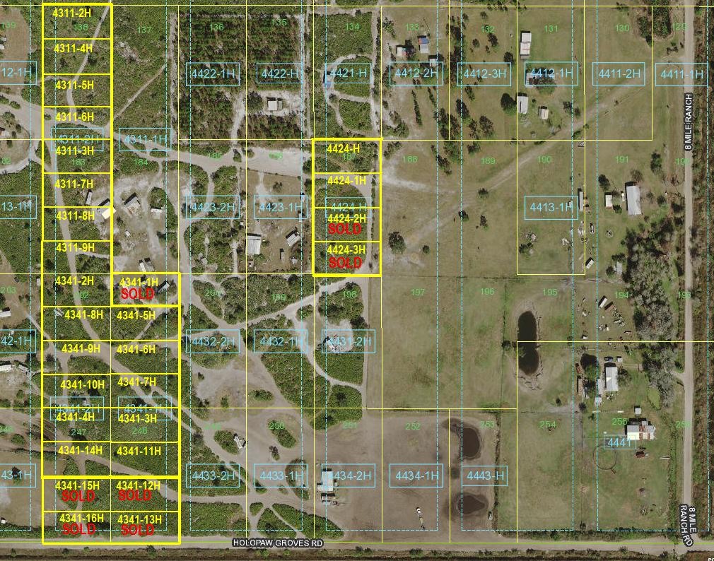 Suburban Estates Lots for sale Holopaw