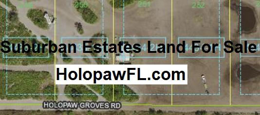 Suburban Estates Holopaw Florida HolopawFL land for sale