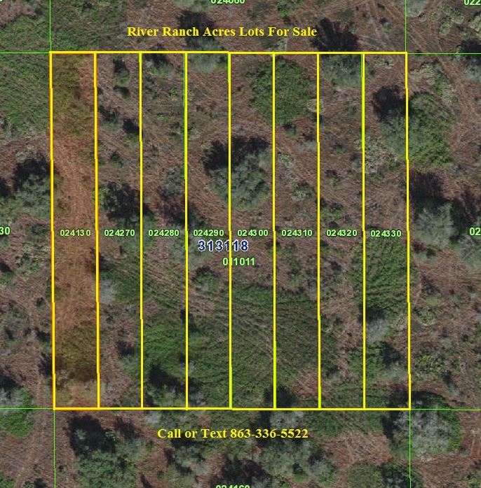 Florida Recreational land for sale River Ranch