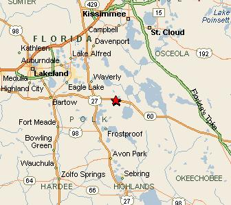 Map River Ranch Acres Fl Polk County Florida